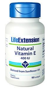 Vitamin E 90 kaps LifeExtension