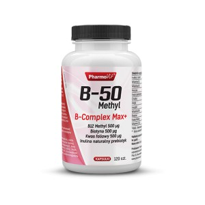 B-50 Methyl B-complex Max 120kp Pharmovit