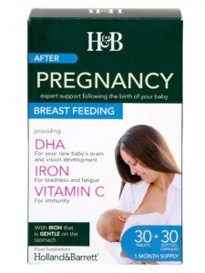 Pregnancy Breastfeeding Dual Pack - 30 tablets & 30 capsules Holland & Barrett