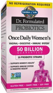 Dr. Formulated Probiotics Once Daily Women's - 30 vcaps Garden of life