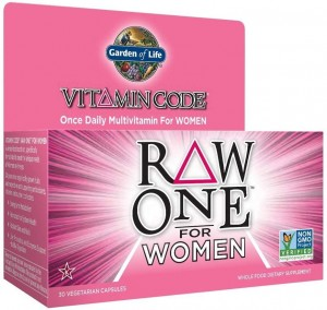 Vitamin Code RAW ONE for Women - 30 vcaps Garden of life