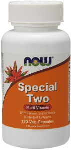 Special Two Multiple Vitamin - 120 Vcap Nowfoods