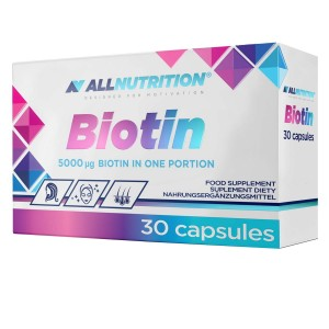 Biotin 5mg 30 kap Allnutrition