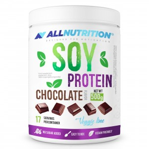 SOY PROTEIN 500g CHOCOLATE  ALLNUTRITION