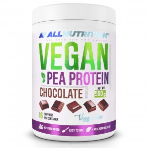 VEGAN PEA PROTEIN 500g CHOCOLATE ALLNUTRITION