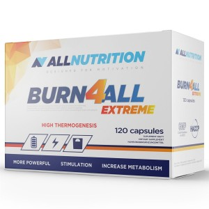 BURN 4 ALL EXTREME NEW 120 kap ALLNUTRITION