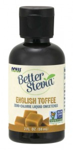 Betterstevia Liquid English toffe  59ml Nowfoods