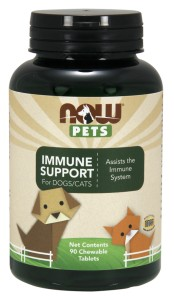 PETS IMMUNE SUPPORT 90tb Nowfoods
