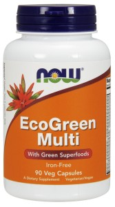 ECO-GREEN MULTI 90kaps Nowfoods