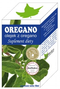 Oregano olejek 50ml Ekamedica