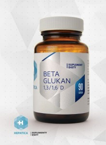 Beta Glukan 1,3/1,6 D 90kp HEPATICA