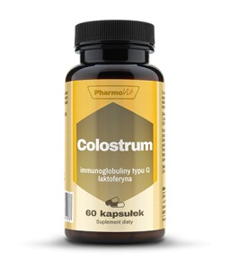 Colostrum wołowe - 25% IgG  90kaps Pharmovit