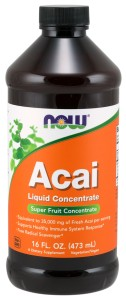 Acai, Liquid Concentrate - 473 ml. NOWFOODS