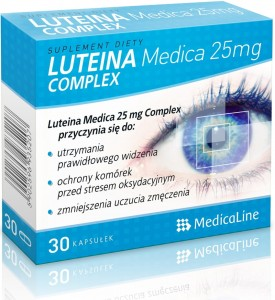 ALINESS LUTEINA MEDICA 25 mg COMPLEX