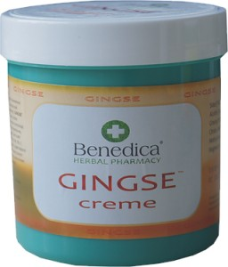 GINGSE creme 250ml Benedica