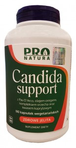 Candida Support Plus 180 vCaps Nowfoods